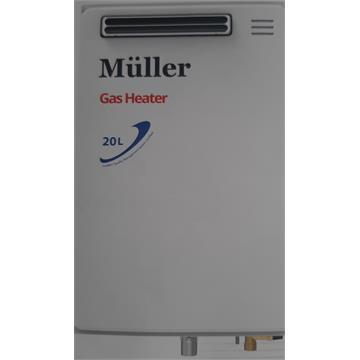 מחמם מים גז MULLER