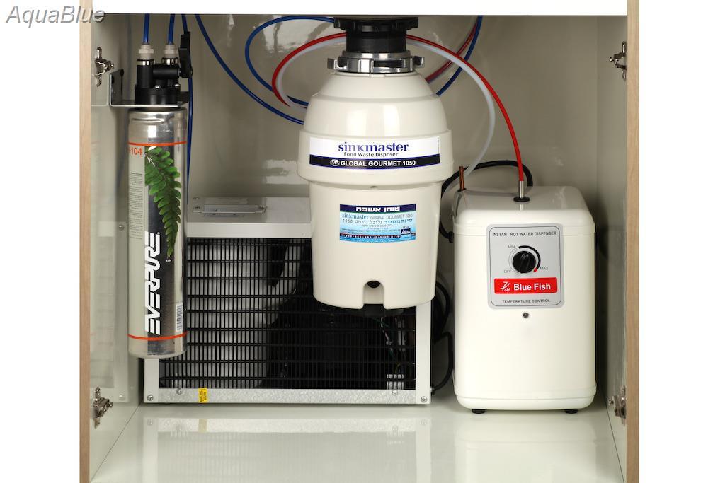 microbar /מיקרו בר מערכת קירור וחימום מים לשתייה תת כיורי